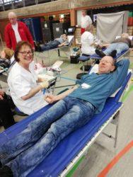 211 Blutkonserven in Zell gewonnen  DRK-Ortsverein freut sich über Spendenbereitschaft