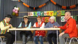 Heitere und närrisch beschwingte Stunden bei der Seniorenfasend