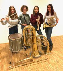 Bläserjugend Unterentersbach: Instrumente werden vorgestellt