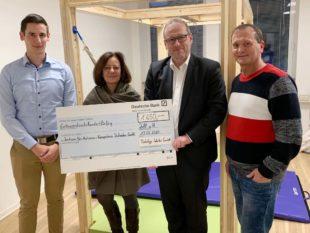 1.650 Euro gehen an Zentrum für Autismus-Kompetenz Südbaden