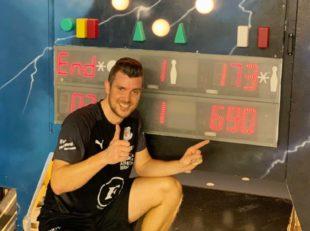 Pascal Dräger stellt Bahnrekord im »Grünen Hof« ein
