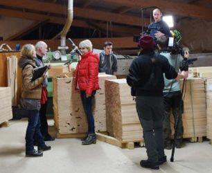 Nur-Holz aus Oberharmersbach im SWR Fernsehen  bei »Natürlich!«