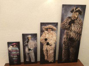 Zeller Narrofiguren auf Leinwand