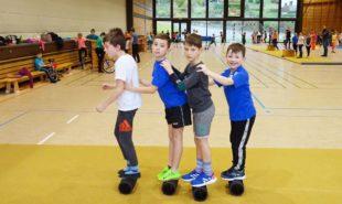 Zirkus Kunterbunt an der Grundschule