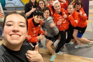 Hombe-Mädels fahren Verbandsligameisterschaft ein