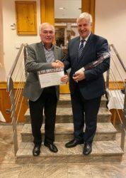 Heinz Scherzinger für 40 Jahre CDU Mitgliedschaft geehrt