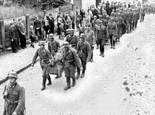 Die fremden Soldaten kamen vom Eckwald
