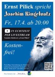 Vortragsabend mit Ernst Pilick findet online statt