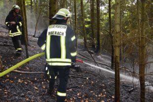 3.500 Quadratmeter Gemeindewald brannten