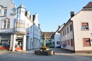 Stadtbrunnen wird abgebaut und saniert