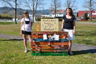 »Kunst gegen Corona« im Dorfpark