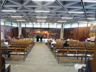 Erster evangelischer Gottesdienst seit Corona