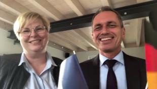 Zell sendet deutsch-französische Videobotschaft