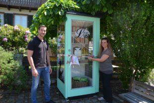 »LeseLust« in der Dorfmitte von Unterentersbach ist eröffnet