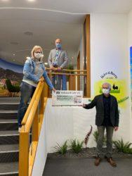 Volksbank Lahr unterstützt die Selbsthilfegruppe Mukoviszidose