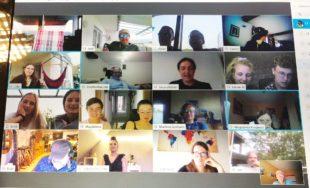 Blasorchester hält per Webkonferenz Kontakt