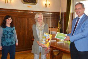 Maria Hättich hat mit frischen Ideen und Tatkraft die Stadt Zell vorangebracht