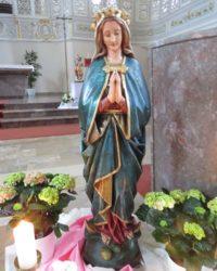 Marienverehrung in der Pfarrkirche