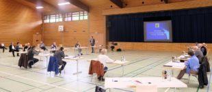 Gemeinderat tagt in Reichstalhalle