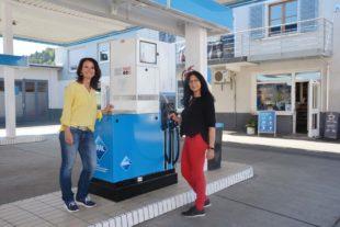 Auto-Waschanlage und Tanksäulen modernisiert