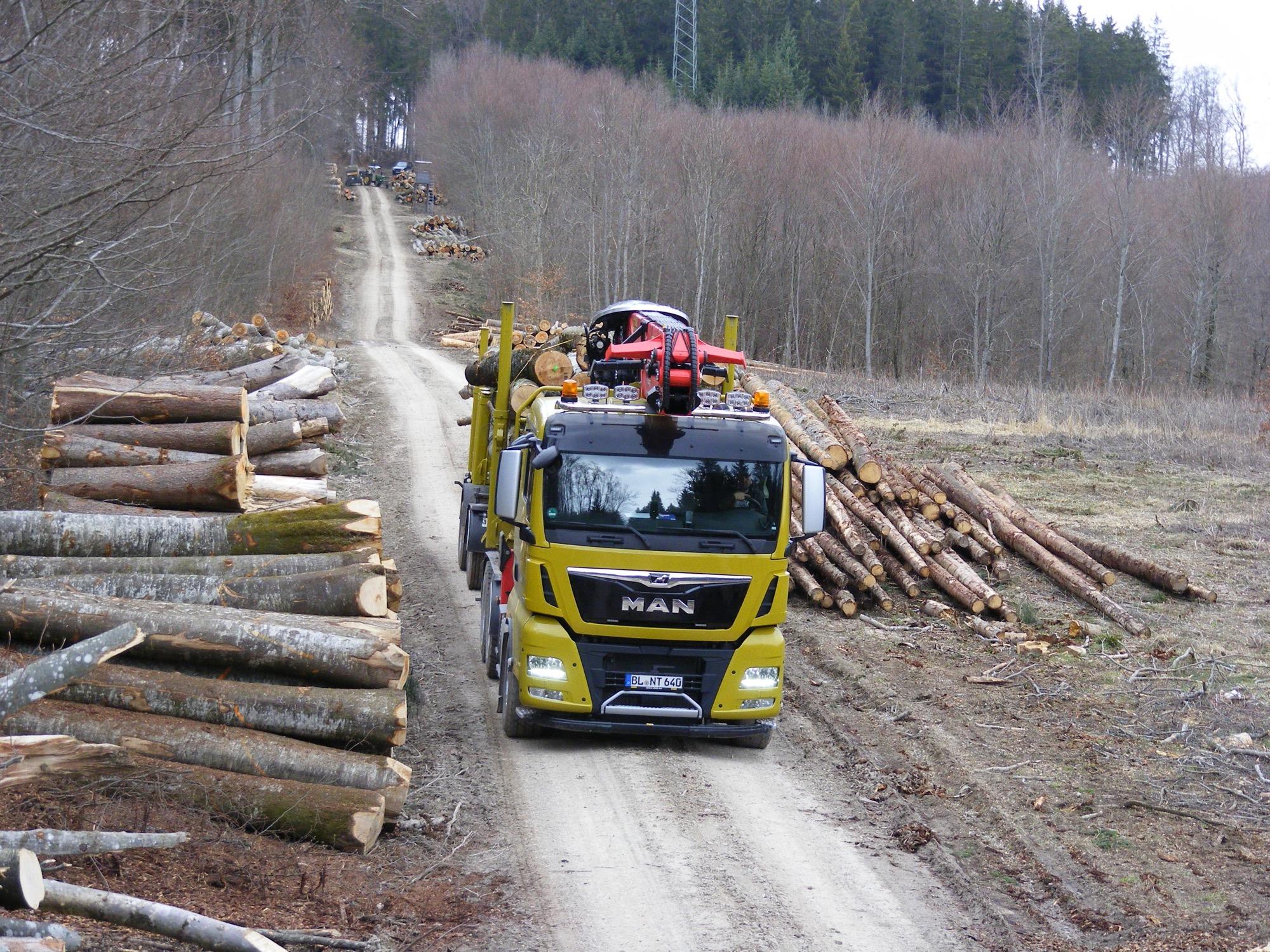 2020-5-8-Oppenau-Ilse und Manfred Oestreich-Holztransport-Nagel 200314zk