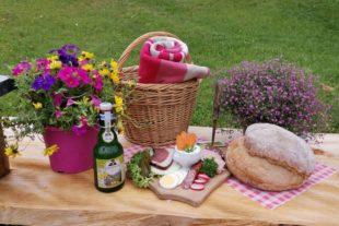 Picknick-Genuss und Panorama pur