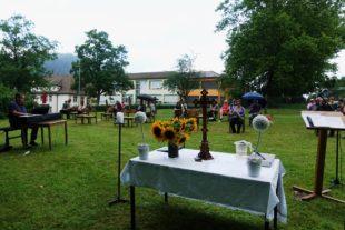 Evangelische Kirche feierte »Gottesdienst im Grünen«