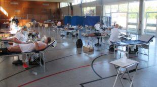 132 Spendewillige gestern beim Blutspendetermin in Biberach