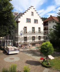Oberharmersbacher Rathaus schält sich heraus