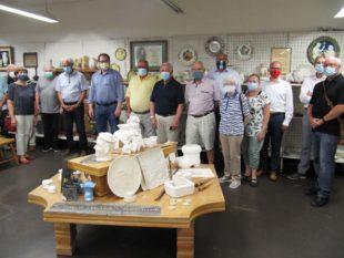 Rundofen-Freunde besuchten Keramik