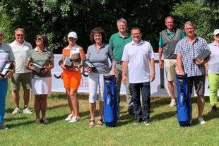 Internationales Flair beim BMW Golf Cup Nettosieger im GC Gröbernhof haben sich für das Landesfinale in München qualifiziert