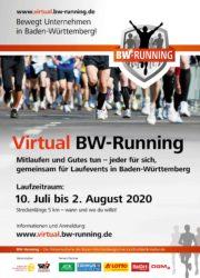 Virtual BW-Running – der TV Biberach ist ebenfalls dabei