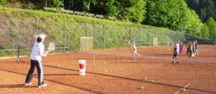 »Bring Schwung in dein  Leben, spiel Tennis!«