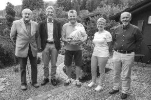 TVU gratulierte Willi Lehmann zu seinem 75. Geburtstag