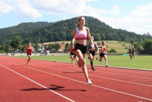 Schnelle Zeiten, und weite Sprünge bei den Kreismeisterschaften
