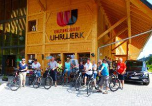 Auf dem Kinzigtal-Radweg zu den Vogtsbauernhöfen in Gutach