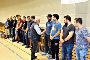 FVU-Handballer im siebten Handballhimmel