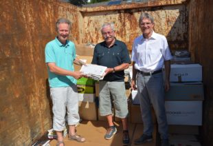 Fast 500 Tonnen Altpapier gesammelt