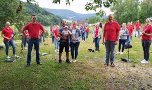 Ein Ständerle für Familie Shirzad eröffnet die Sommersaison
