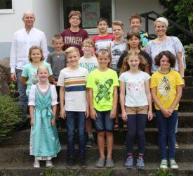 Brandenkopfschule verabschiedet Viertklässler mit kleiner, feiner Feier