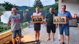 Narrenzunft dankt Christine Hohmann und Karl-Heinz Gißler