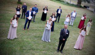 110 erfolgreiche Abiturienten am Wirtschaftsgymnasium