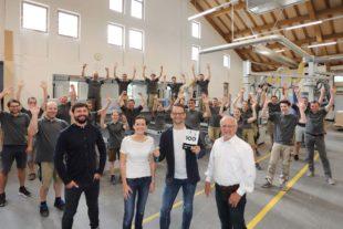 Innenausbau Manfred Lehmann ist TOP-100-Unternehmen