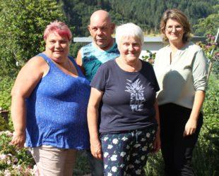 Gästeehrung für Familie Walosik