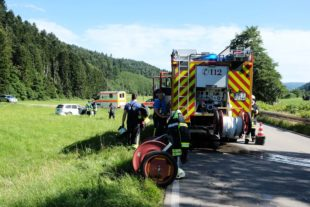 Unfall zwischen Nordrach und Zell