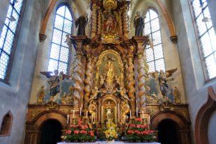 Marienfest in der Wallfahrtskirche