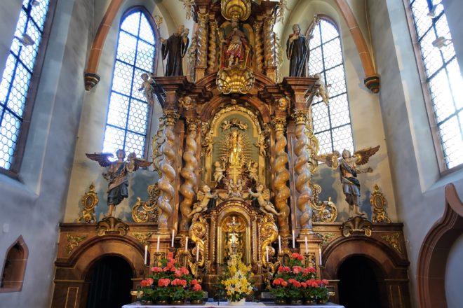 »Maria zu den Ketten« Zell am Harmersbach: Abendandacht