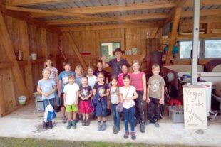 Bauernhoferlebnis, Kino-Atmosphäre und Spaß beim Boule spielen