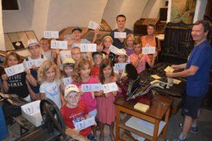 Zeller Ferienkinder  erkundeten die »Schwarzwälder Post«