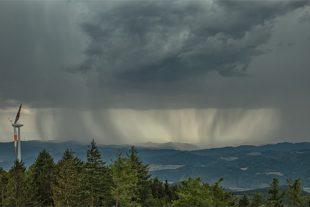 Die Wetterküche brodelte über Berg und Tal